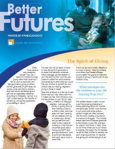 Better Futures Winter 2019 Newsletter